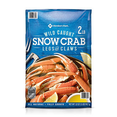 Member S Mark Snow Crab Legs And Claws 32 Oz Sam S Club