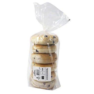 Member's Mark Blueberry Bagels (6 ct.)