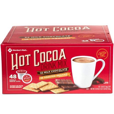 Member's Mark Single Serve Hot Cocoa (48 ct.)