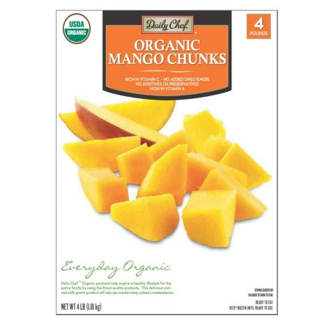 Daily Chef Organic Mango Chunks (4 lbs.)