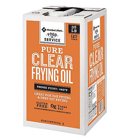 Member's Mark 100% Pure Clear Frying Oil (35 lbs.)
