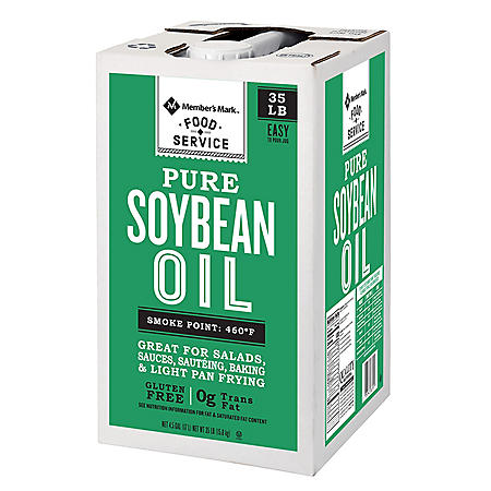 Member's Mark Pure Soybean Oil (35 lbs.)