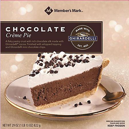 Member's Mark Chocolate Creme Pie (29 oz.)