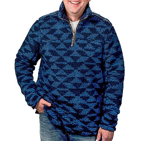 Member's Mark Men's Sherpa Pullover