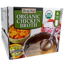 Daily Chef Organic Chicken Broth (32 oz., 6 pk.)