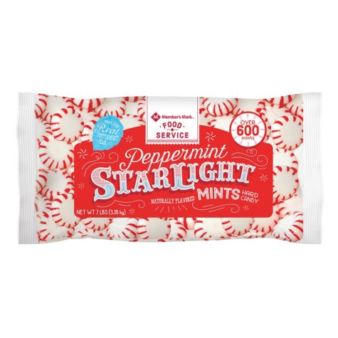 Member's Mark Peppermint Starlight Mints (7 lbs., 600+ ct.)