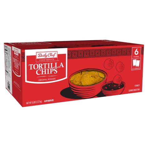 Daily Chef Round Tortilla Chips (3 lbs., 2 ct.)