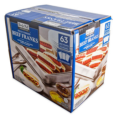 Daily Chef Beef Franks (10.5 lbs., 63 ct.)