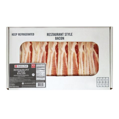 Member's Mark Premium Restaurant Style Bacon (10 lbs.)