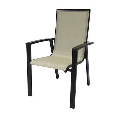 Aluminum Sling Stack Chair