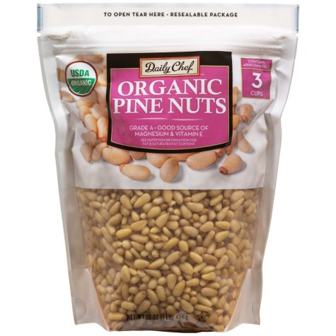 Daily Chef Organic Pine Nuts (16 oz.)