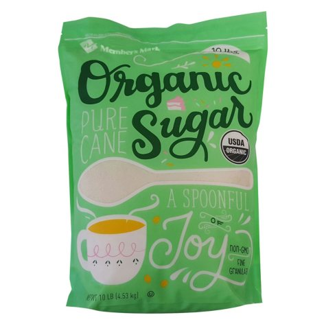 Member's Mark Organic Cane Sugar (10 lbs.)
