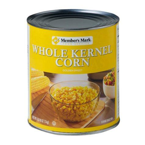 Member's Mark Whole Kernel Corn (106 oz. #10 can)