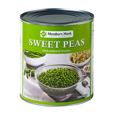 Member's Mark Sweet Peas (105 oz. #10 can)