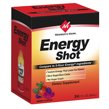 Simply Right Energy Shot - 24 pk.