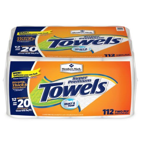 Members Mark Paper Towels (12 ct.)