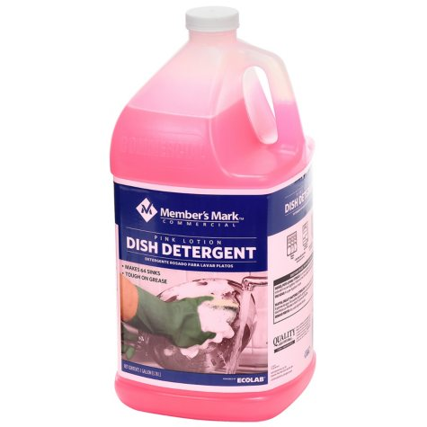 Member's Mark Commercial Pink Lotion Dish Detergent (1 gal.)