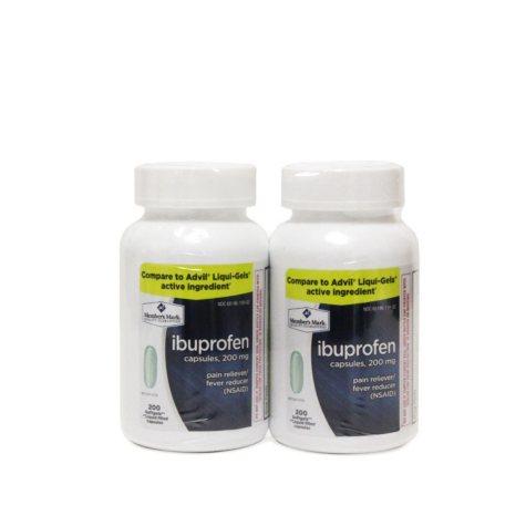 Member's Mark 200 mg Ibuprofen Softgel Tablets (200 ct., 2 pk.)