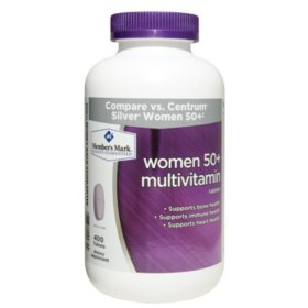 Member's Mark Women 50+ Multivitamin Dietary Supplement (400 ct.)