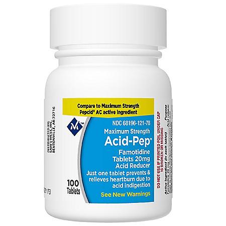 Member's Mark 20 mg Famotidine Acid Reducer (200 ct.)