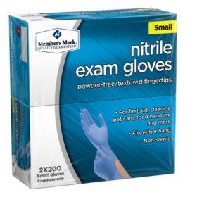 Member's Mark Nitrile Exam Gloves (Assorted Sizes)