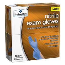 Member's Mark Nitrile Exam Gloves (Choose A Size)