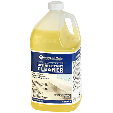 Member's Mark Commercial Lemon Fresh Disinfectant Cleaner (Choose Your Quantity)