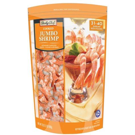 Daily Chef Cooked Jumbo Shrimp  (2 lbs.)
