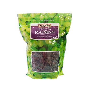 Daily Chef California Raisins (60 oz.)