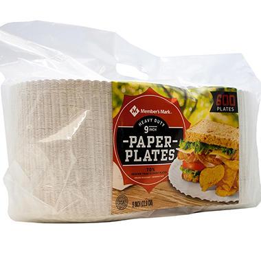 mark heavyduty paper plates