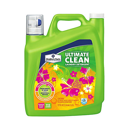 Member's Mark Ultimate Clean Paradise Splash Liquid Laundry Detergent (177 oz., 115 loads)