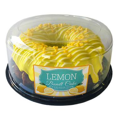 lemon bundt cake 54 oz sam 39 s club. Black Bedroom Furniture Sets. Home Design Ideas