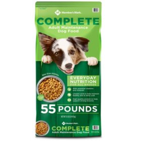 Member's Mark Complete Adult Maintenance Dry Dog Food (55 lbs.)