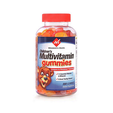 Member's Mark Multivitamin Gummy - 300 ct.