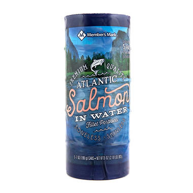Member's Mark Canned Atlantic Salmon (7 oz. can, 5 pk.)