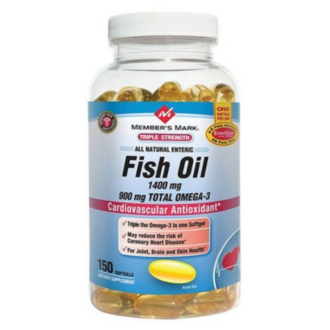 Member's Mark® Fish Oil