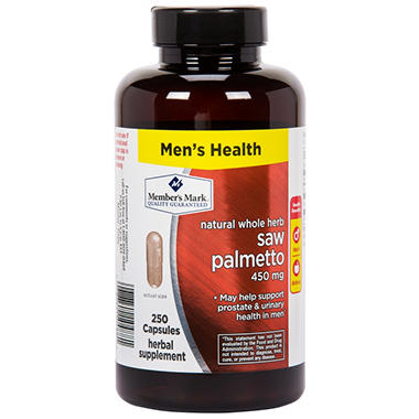 Member's Mark Saw Palmetto Herbal Supplement (250 ct.)