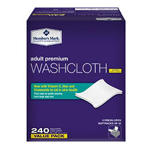 Member's Mark Adult Washcloths (240 ct.)