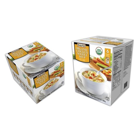 Daily Chef Organic Chicken Noodle Soup (17 oz., 6 pk.)