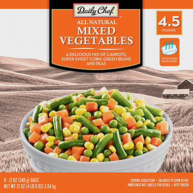 Daily Chef Mixed Vegetables (12 oz. bag, 6 ct.)
