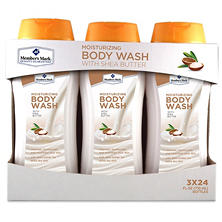 Member's Mark Moisturizing Body Wash with Shea Butter (24 fl. oz., 3 pk.)