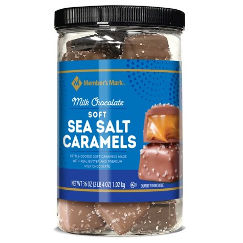 Member's Mark Soft Sea Salt Caramels (31 oz.)