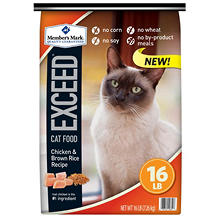 Member's Mark Exceed Cat Food, Chicken & Brown Rice Recipe (16 lbs.)