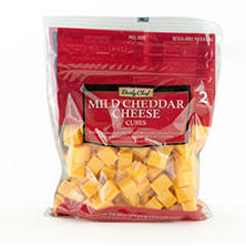 Daily Chef  Mild Cheddar Cheese Cubes (2 lb.)