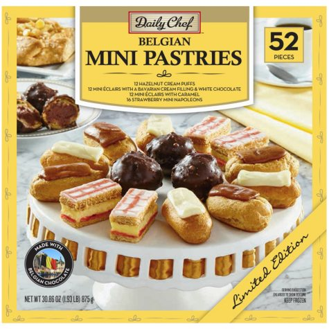 Daily Chef Belgian Mini Pastries (52 ct.)
