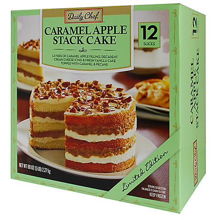 Daily Chef Apple Caramel Stack Cake (80 oz., 12 slices)