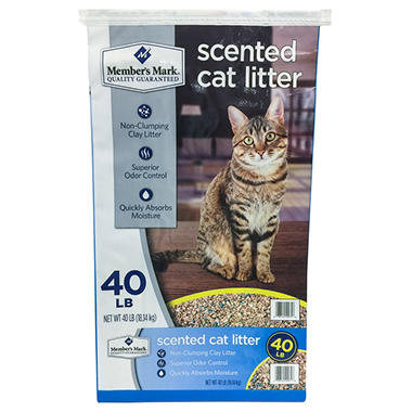 Member's Mark Scented Cat Litter (40 Lbs.)