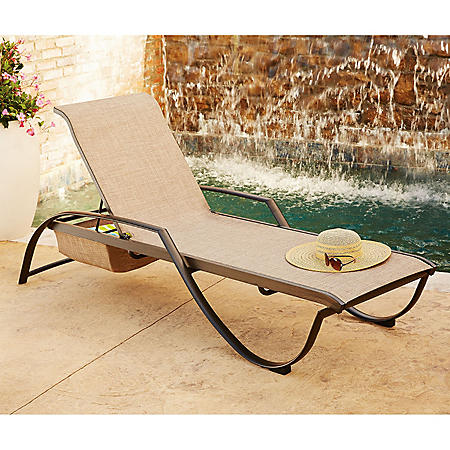Member S Mark Sling Stacking Chaise Lounge Sam S Club
