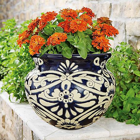"""16"""" Castilla Ceramic Planter"""