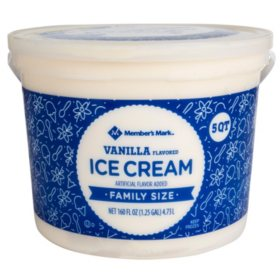 Member's Mark Vanilla Ice Cream (5 qt.)